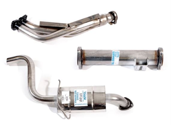 Rover SD1 Exhaust System Components - 3500 Carb 1982-1986 Auto