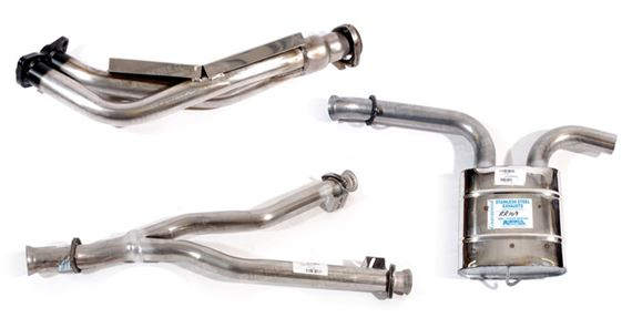 Rover SD1 Exhaust System Components - 3500 Efi 1982-1986 Manual