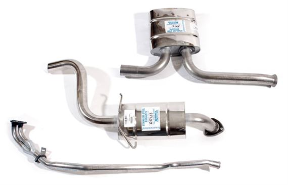 Rover SD1 Exhaust System Components - 2600/2300 1982 on