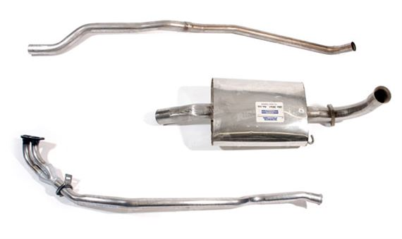 Rover SD1 Exhaust System Components - 2400TD 1982-1983
