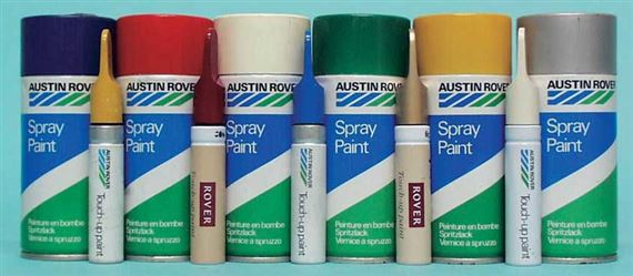 Rover SD1 Aerosol Paints and Touch Up Paints