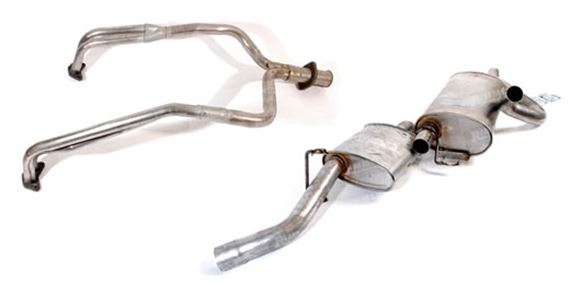 Range Rover Classic Exhaust System Components - V8 3.9 Litre