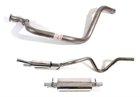 Range Rover Classic Exhaust System Components - Diesel 2500TD