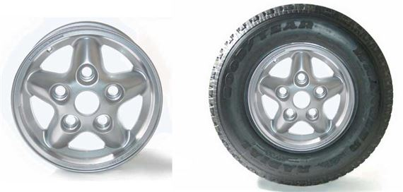 Range Rover Classic Alloy Wheel and Wheel-Tyre Packages Freestyle