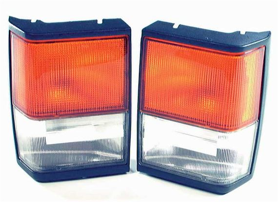 Range Rover Classic Front Side and Flasher Lamps