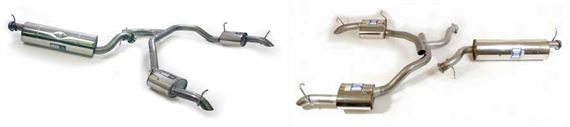 Range Rover 2 Exhaust Part Systems