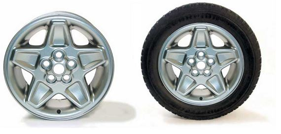 Range Rover Classic 18 inch Alloy Wheel and Wheel/Tyre Packages - Mondial