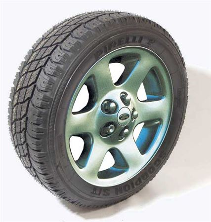 Range Rover 2 18 inch Alloy Wheel & Wheel/Tyre Packages - Comet