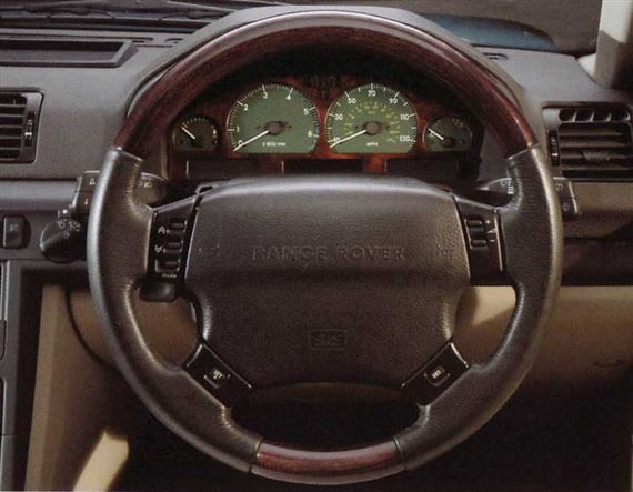 Range Rover 2 Steering Wheel and Column