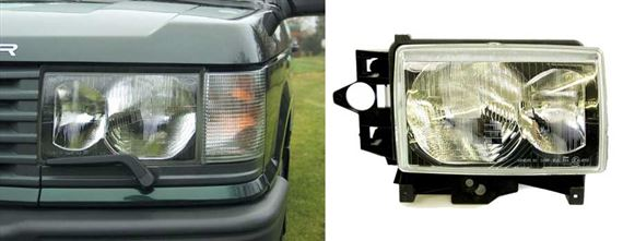 Range Rover 2 Headlamps