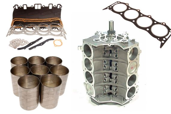 Discovery 1 V8 Cylinder Block Components