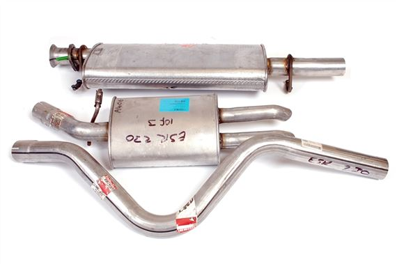Discovery 1 Exhaust Part Systems - Petrol