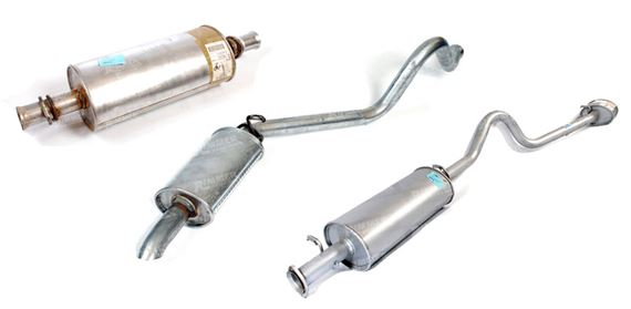 Discovery 1 Exhaust Part Systems - Diesel