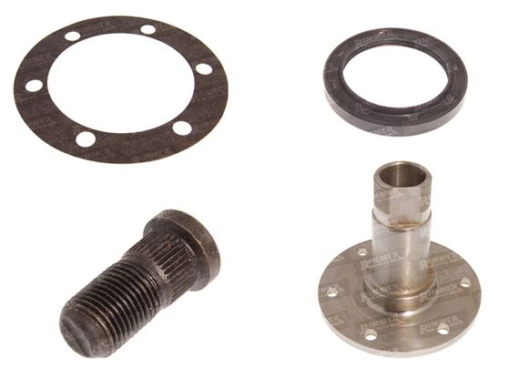 Discovery 1 Rear Hub Assembly - ABS and Non ABS