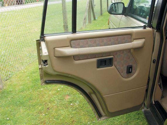 Discovery 1 Side Frame & Panels - Inner