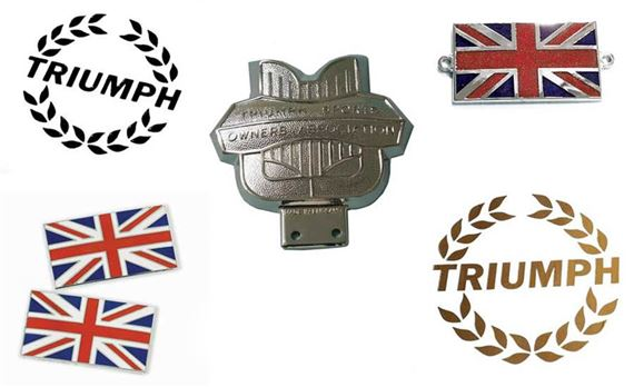 Triumph Vitesse Decals, Badges and Transfers