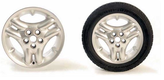 Discovery 2 Alloy Wheel and Tyre Packages - Triple Sport