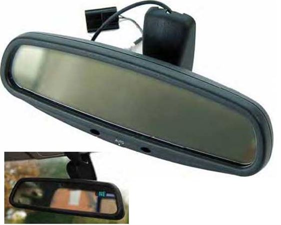 Discovery 2 Rear View Mirror