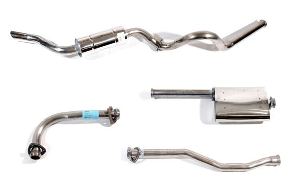 90-110 and Defender Full Exhaust Systems - 2.25 Petrol