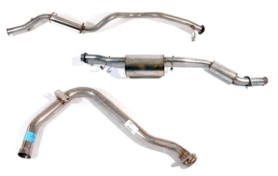 90-110-130 and Defender Exhaust System Components - 200Tdi