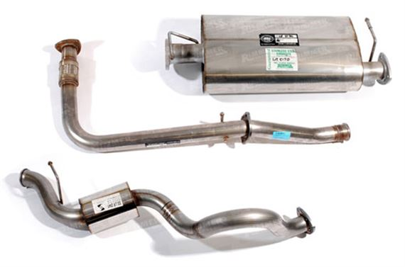 90-110-130 and Defender Exhaust System Components - Td5
