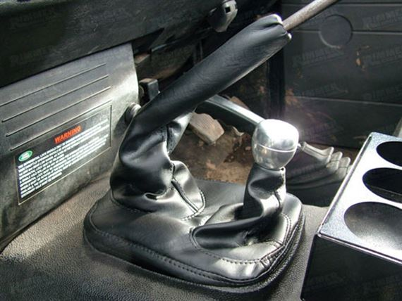 90-110 and Defender Gear Lever Gaiter
