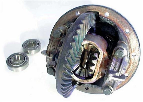 Discovery 2 Differential - Front