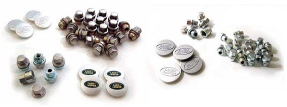 90-110 and Defender Wheel Nuts Centres and Studs