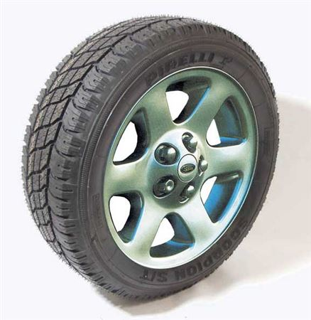 90-110 and Defender 18 inch Alloy Wheel and Tyre Packages - Comet