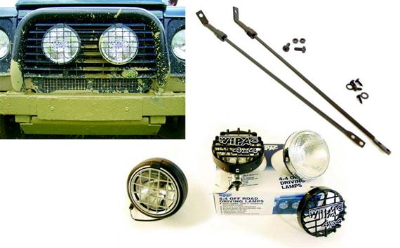 90-110 and Defender Driving Lamps