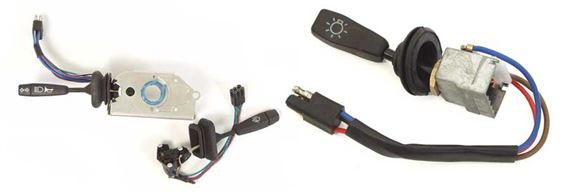 90-110 and Defender Switches and Controls - Steering Column Stalks