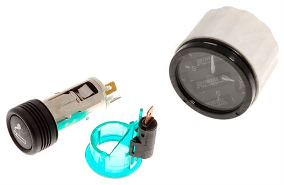 Discovery 1 Cigar Lighter and Clock