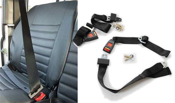 90-110 and Defender Seat Belts