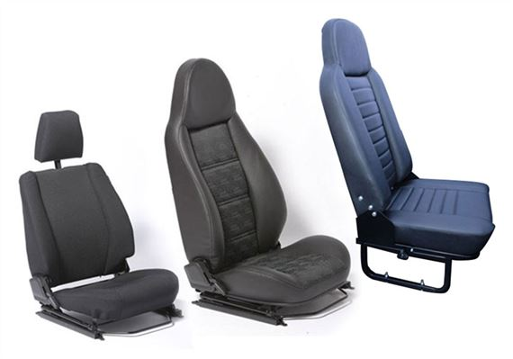 90-110 and Defender Replacement Seats - Standard Seats - Complete