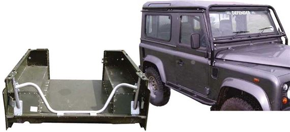 90-110 & Defender Rollover Protection Bars
