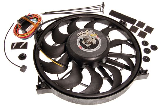 Triumph GT6 Electric Fans