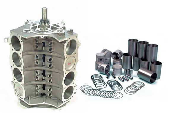 Rover SD1 V8 Cylinder Block Components