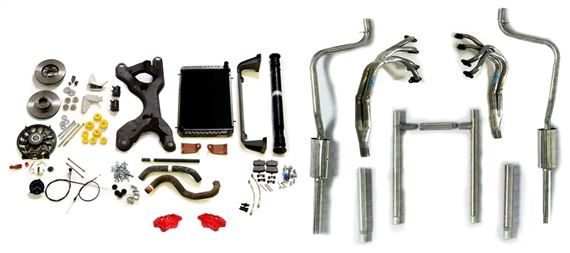 TR8 Exhaust System Conversion Kits