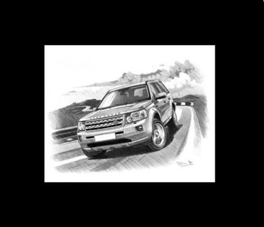 Classic Memories Freelander 2 - 2006 on - Prints
