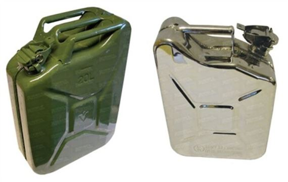 90-110 and Defender Jerry Cans