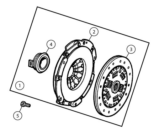 MGF and MG TF Clutch Components