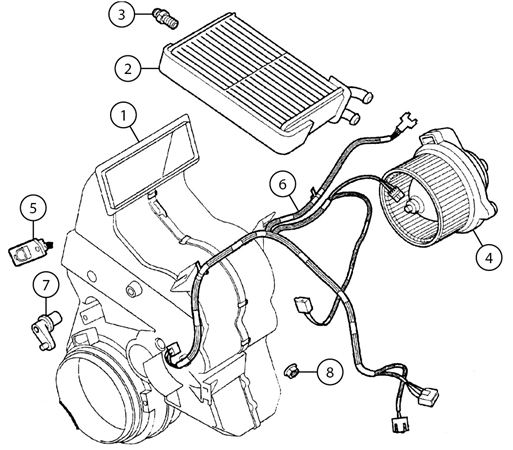 Mgf And Mg Tf Heater Assembly
