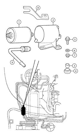 mgf and mg tf fuel filter rimmer bros Circuit Breaker Wiring Diagram mgf and mg tf fuel filter