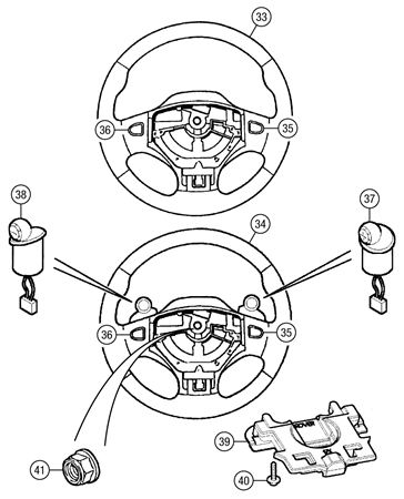 Mgf And Mg Tf Steering Wheel
