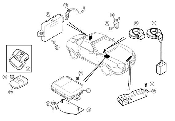 mg mgf wiring diagram