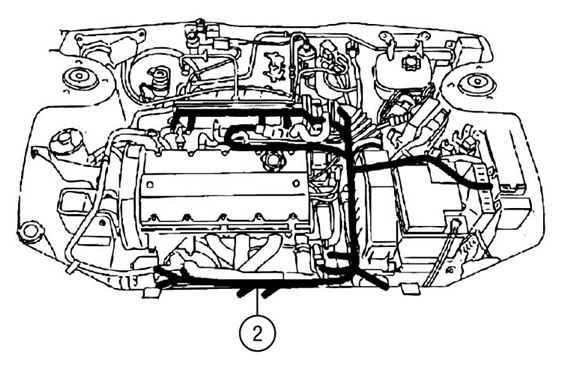 Engine Harness - MG TF
