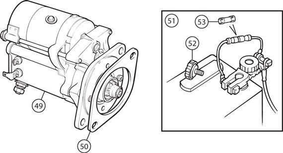 triumph tr2-4a uprated hi torque starter motors