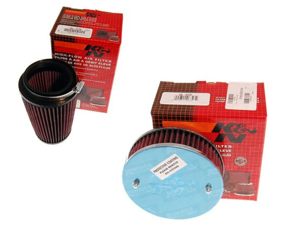 4 REQ Stromberg 175CD x4 56-9156 K/&N Filter JAGUAR XJ12 5.3 V12 CARB 1973