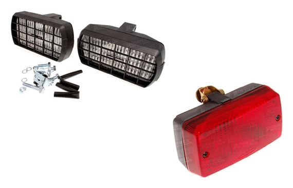 Triumph Dolomite and Sprint Driving Lights and Fog Lights