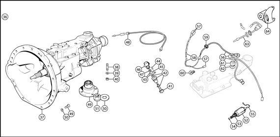 triumph tr6 j type overdrive conversion kit and electrics